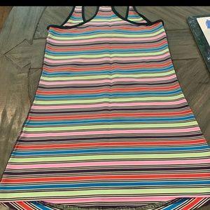 Lululemon seawheeze stripe racerback